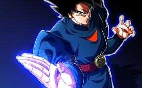 Картинка Goku, Dragon ball, Goku Ultra, Ultra instinct, Super Dragon Ball Heroes