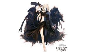 Картинка девушка, скелеты, princess royale