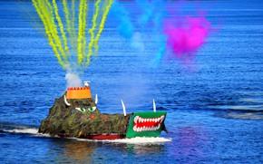 Картинка чудище, парад, морское, день вмф, североморск