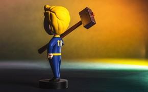 Картинка Fallout, 111, Bethesda Softworks, Bethesda, Фигурка, Bethesda Game Studios, Vault Boy, Волт-Бой, Бетезда, Vault-Boy, ВолтиБой, …