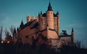 Картинка природа, замок, архитектура
