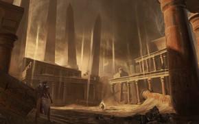 Картинка мультиплатформенная компьютерная игра, Assassin's Creed Origins, Eddie Bennun, The Curse of the Pharaohs