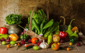Картинка урожай, натюрморт, овощи, autumn, still life, vegetables, harvest