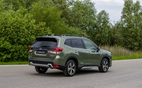 Картинка Subaru, боком, кроссовер, AWD, Forester, 2019