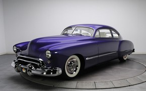 Картинка Purple, Coupe, Old, Oldsmobile, Vehicle