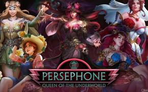 Картинка девушки, Persephone, Smite