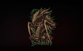Картинка Минимализм, Богдан Тимченко, Geraud Soulie, StarCraft 2, Background, Art, Стиль, Арт, Helix, Minimalism, Blizzard, Style, …