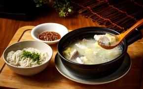 Картинка рыба, суп, уха, лапша