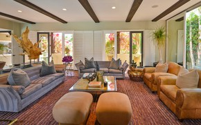 Картинка комната, интерьер, гостиная, Villa Carmelita