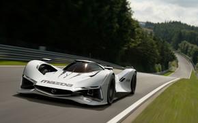 Картинка скорость, Mazda, Прототип, Gran Turismo Sport, LM55 VGT