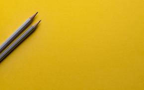 Картинка yellow, paper, pencil