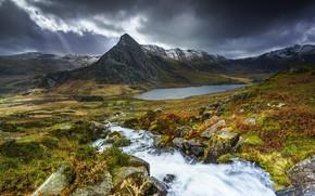 Картинка горы, Уэльс, Snowdonia