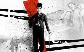 Картинка фото, арт, актер, Chaplin, Charli