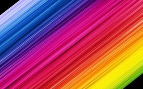 Картинка полосы, разноцветные, радужные