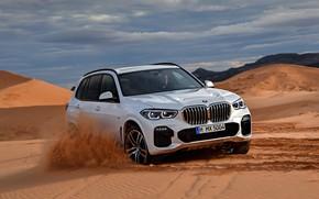 Картинка пустыня, BMW, 2018, Sport, кроссовер, X5 M, XDrive30d