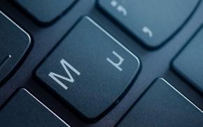 Картинка макро, клавиатура, клавиша