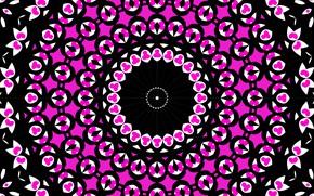 Картинка фон, узор, цвет, круг