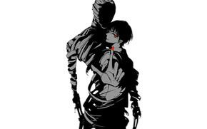 Картинка аниме, арт, парень, Аджин-получеловек, Ajin: Demi-Human, аджин