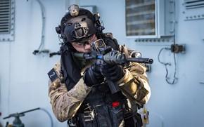 Картинка оружие, армия, солдат, Naval Tactical Operations Group