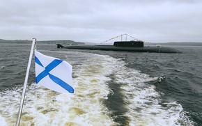 Картинка Орел, подводный, крейсер, атомный, проект 949А