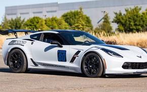 Картинка Corvette, Grand, One, chevrolet, Forged, Sport, Wheels, Piece, GA1R, Forgeline, Monoblock