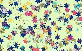 Картинка цветы, ретро, орнамент
