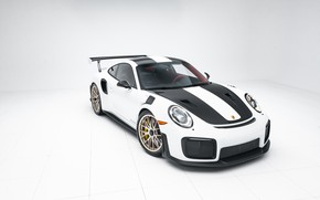 Картинка Porsche, Front, White, 991, VAG, Sight, GT2RS