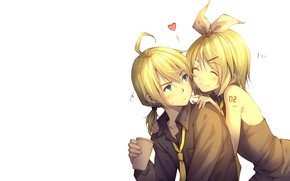 Картинка двое, Vocaloid, Вокалоид