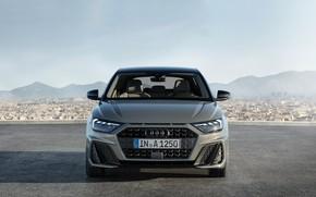 Картинка вид спереди, 2018, Sportback, S-Line, Audi A1, 35 TFSI