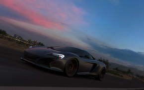 Картинка McLaren, Microsoft, суперкар, game, Forza Horizon 3