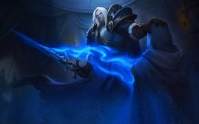 Картинка Король, WOW, Lich King, Warcraft, Blizzard, Paladin, Arthas, Frostmourne, Артас, Illustration, Characters, Arthas Menethil, WarCraft …