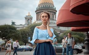 Картинка девушка, люди, платье, Артемий Мостовой, Диана Миронова