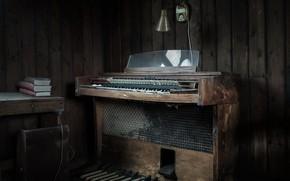 Картинка музыка, комната, орган
