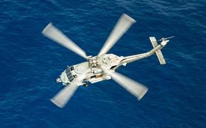 Картинка Море, Вертолет, US NAVY, MH-60R Seahawk