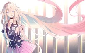 Картинка девушка, длинные волосы, Hyperdimension Neptunia