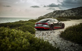 Картинка Audi, берег, купе, 2020, RS e-Tron GT Prototype
