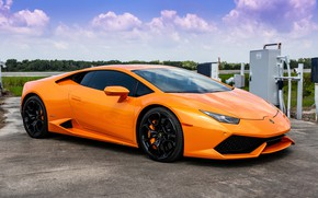 Картинка Lamborghini, Huracan, at NASA, Porter 34, Casey J