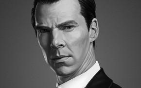 Картинка Шерлок Холмс, Бенедикт Камбербэтч, Benedict Cumberbatch, Sherlock BBC, Sherlock Holmes, Sherlock (сериал), aidar salimov