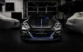 Картинка Porsche, Panamera, вид спереди, 2018, TechArt, Sport Turismo, Grand GT, Selective