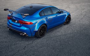Картинка Jaguar, Колеса, Асфальт, Диски, 2018, Jaguar XE SV Project 8, Jaguar XE
