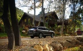 Картинка Subaru, универсал, Outback, AWD, возле дома, 2020