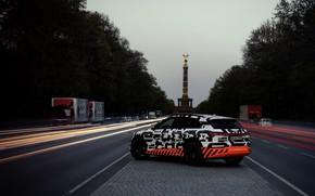 Картинка Audi, 2018, разделительная полоса, E-Tron Prototype