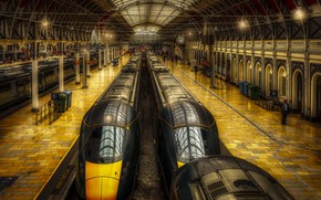 Картинка London, England, Paddington Station