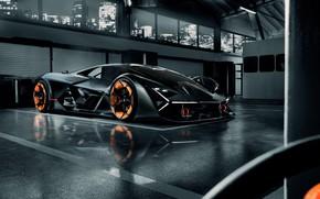 Картинка Lamborghini, суперкар, гиперкар, Terzo Millennio