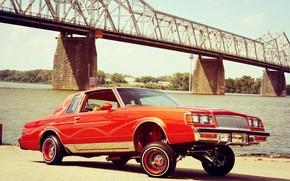 Картинка Tuning, Lowrider, Custom, Buick, Vehicle, Buick Regal, Regal