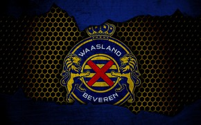 Картинка wallpaper, sport, logo, football, Waasland Beveren