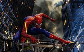 Картинка паутина, Spider-Man, PS4, Человек - паук, Spider-Man (PS4)