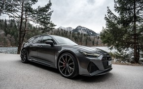 Картинка Audi, ABT, Avant, RS6, RS 6, 2020