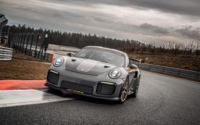 Картинка пасмурно, 911, Porsche, гоночный трек, GT2 RS, 991, Edo Competition, 2020