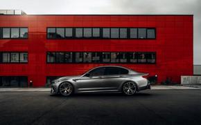Картинка стена, BMW, седан, AC Schnitzer, четырёхдверный, M5, F90, 2019, ACS5 Sport